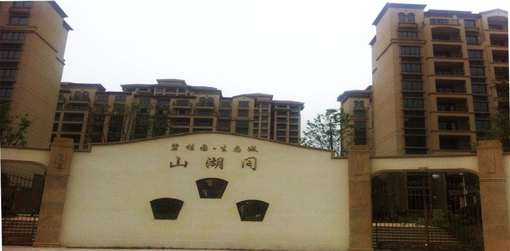 武汉生态城碧桂园山湖间消防工程