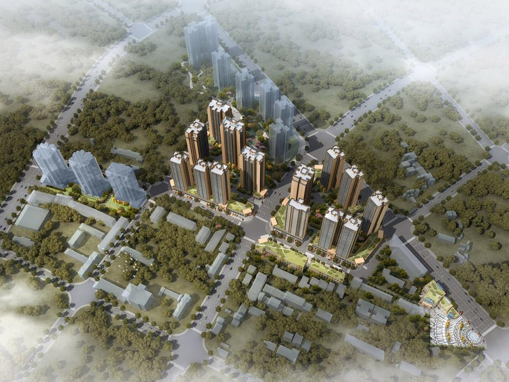 安顺西湖路城市棚户区改造工程