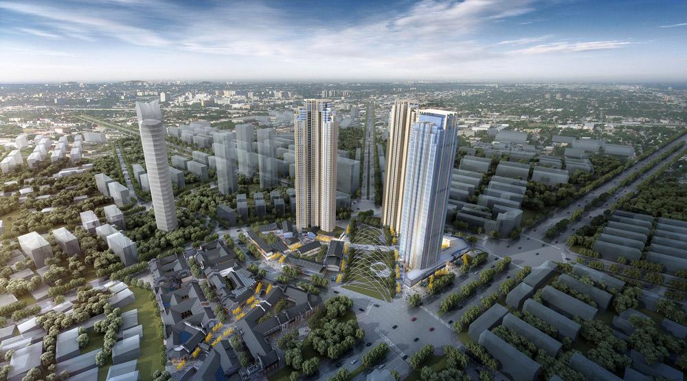 福星惠誉汉阳城旧城改造风貌区C地块项目